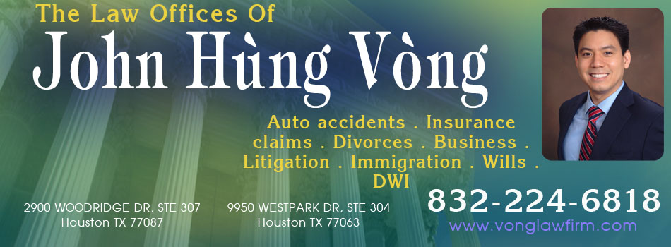 Lawyer John Vong Houston Attorney